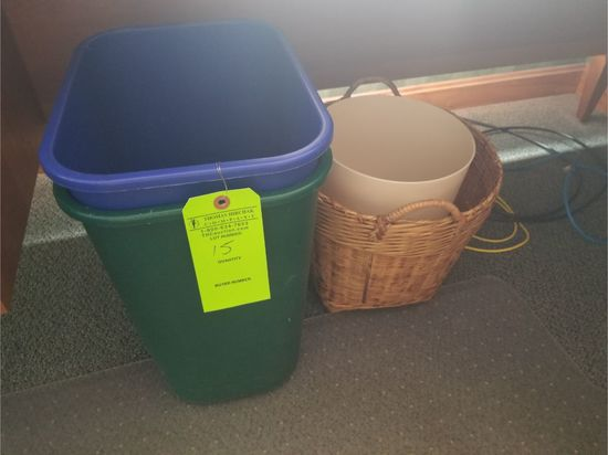 Asst.Trash Cans & Wastepaper Baskets