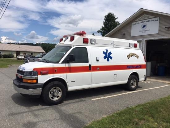 2007 Chevrolet Express Van, Demers Ambulances, Duramax Diesel,  92,376 mile