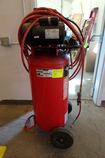 Husky 30Gal. -2HP Vertical Air Compressor, portable