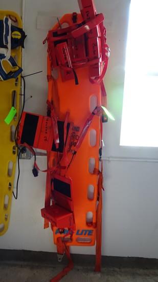 PRO- Lite Back Board w/Bound Tree Stabilizers