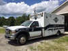 2008  Ford-F-450, 4x4 Ambulance Medtec Ambulance Corporation, 83,922 miles,