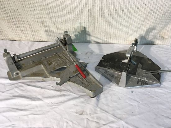 (2) Tile Cutters