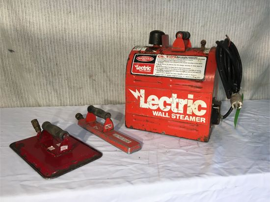 Lectric Wall Steamer W/ (2) Pans