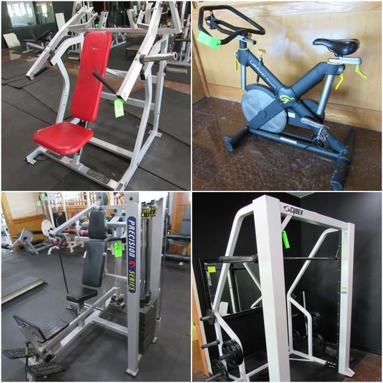 Secured Creditors Fitness Equipment