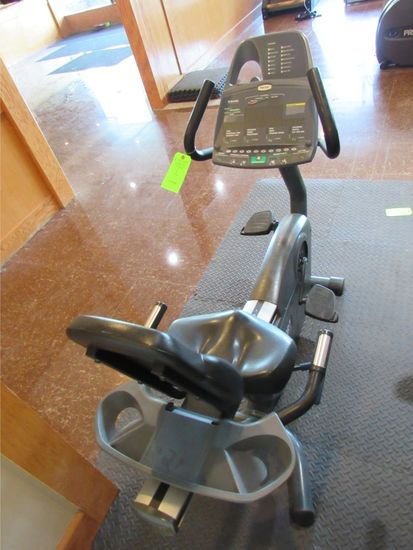 Precor C8461i Upright Bike