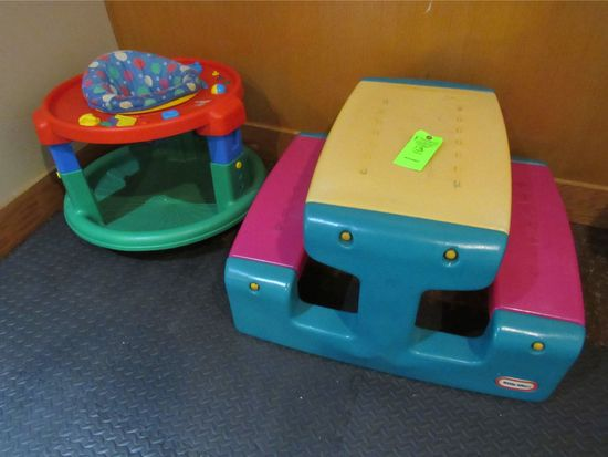 (2) Infant Play Centers