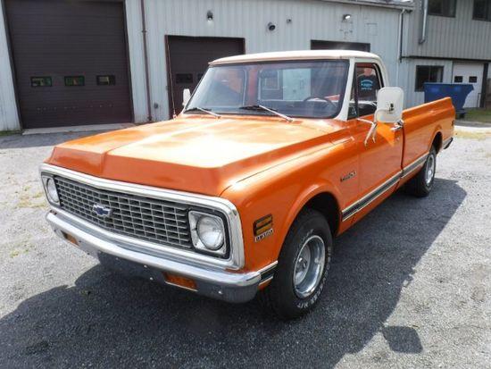 1972 Chevrolet C10 2 Door Fleetside Pickup