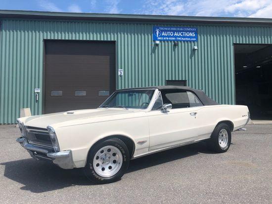 1965 Pontiac LeMans GTO 2 Door Convertible