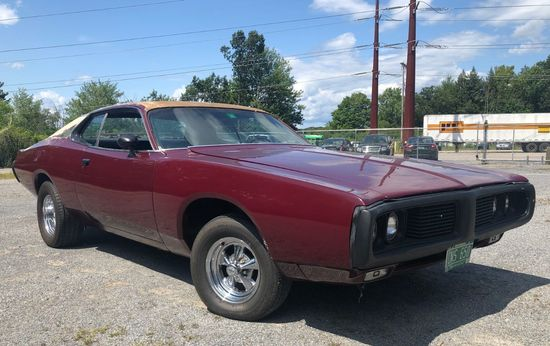 1973 Dodge Charger 2 Door Hard Top Coupe