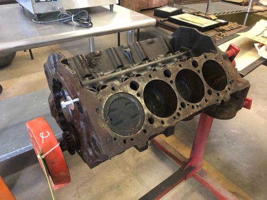 Chevy 350 4-Bolt Standard Block