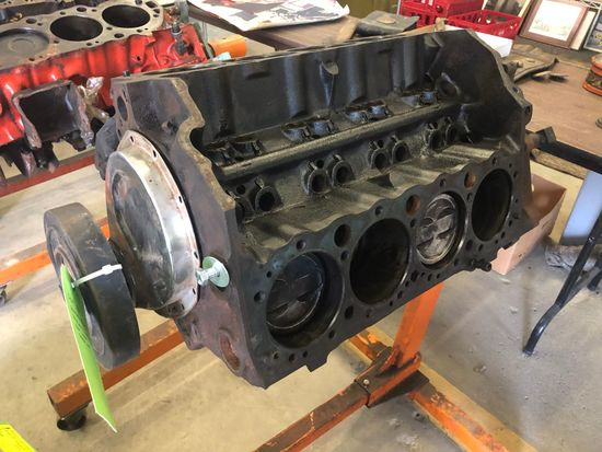 Chevy 350 Standard Bore Complete Block