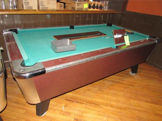 Great American Billiards 6.5' Coin Operated Pool Table