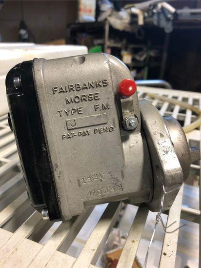New Fairbanks Morse Type J Magneto