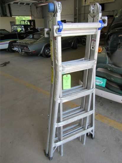 Werner 21' Multi Purpose Ladder