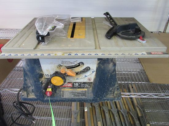 10' Ryobi Portable Table Saw