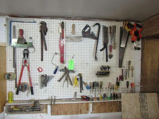 Qty. of Asst. Hand Tools