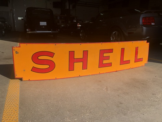 SHELL Painted Steel Sign