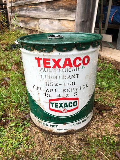 Vintage Texaco Multigear Lubricant Can