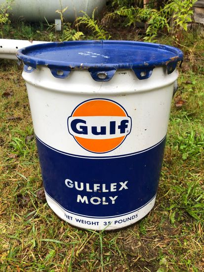 Vintage Gulf Oil Can