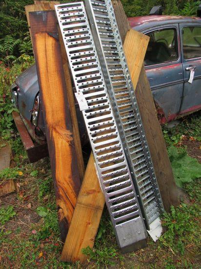 (2) 6' Steel Loading Ramps
