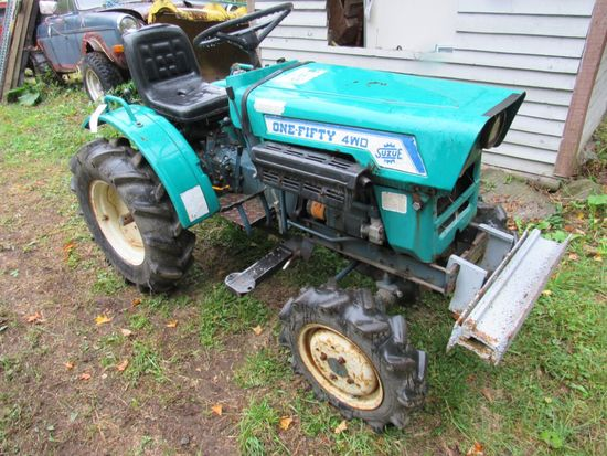 Suzue AGR. Limited One Fifty 4X4 Tractor
