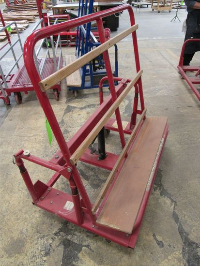Tilt & Lift Sheet Material Cart