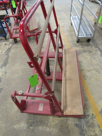 Tilt & Lift Sheet Material Cart