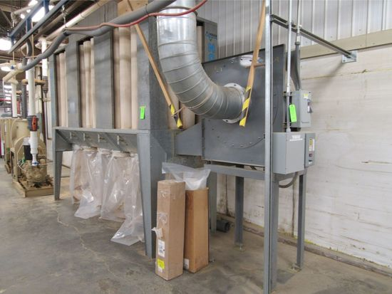 Nordfab Bag-Type Bottom Discharge Dust Collector