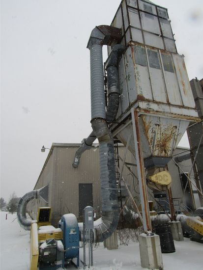 Complete Plant Dust Extraction System
