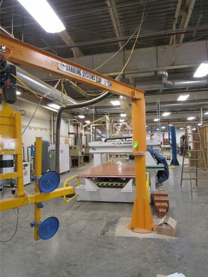 Handling Systems Jib Crane w/ 11' Boom