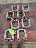 (8) Bessey Edge Clamps