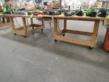 (2) Shop-Built Folding Roll-Around Work Benches