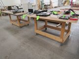 (3) Roll-Around Work Benches