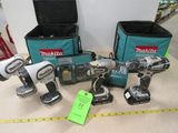 Makita 18v Cordless Tool Lot
