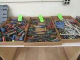 (3) Trays Asst. Hand Tools
