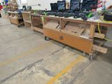 (3) Shop-Built Rolling Work Benches