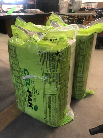 (2) Bales of Cellulose Insulation