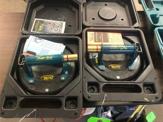 (2) Wood's Powr-Grip Vacuum Lifting Handles