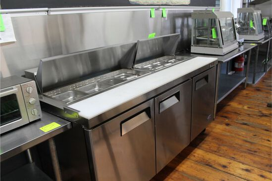 "Atosa 73"" Refrigerated Prep Unit"