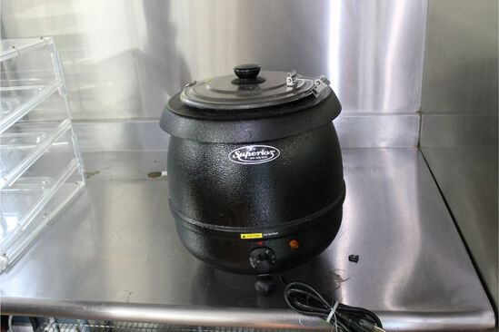 Superior Kettle Form Soup Warmer