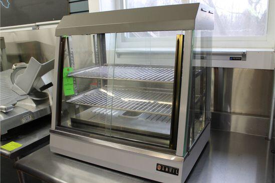 """Anvil Countertop Heated Merchandiser, 25.5"""" in width"""