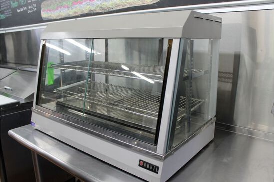 """Anvil Counter Top Heated Merchandiser, 35"""" in width"""