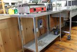 Stainless Steel Table with under shelf, 48