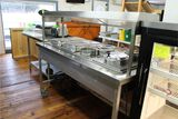 Atlas Four Compartment Electric Steam Table