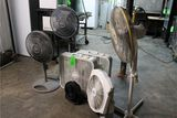 (6) Assorted Fans & Kenmore Window Air Conditioner