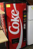 Dixie Narco Model DNCB240CC/138-6 12 oz. Can Vending Machine with bill validator