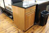 Oak Base Cabinet with 21