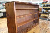 Pine Double Side Display Shelf Unit
