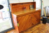 Pine and Maple Cabinet Unit