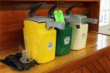 (3) Heinz Condiment Dispensers
